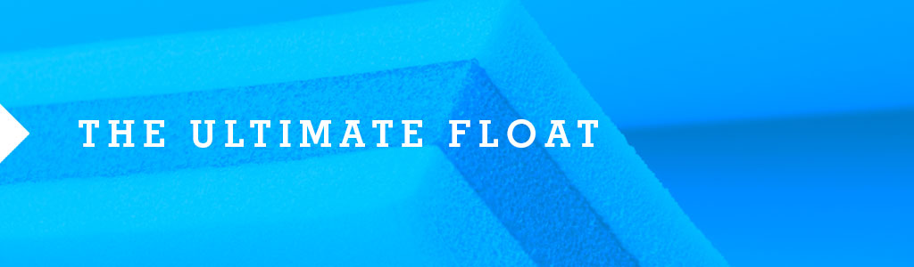 Ultimate 3 Layer Foam Lake Float | FloatDaddy 3Ply  Super Island | 16 Feet