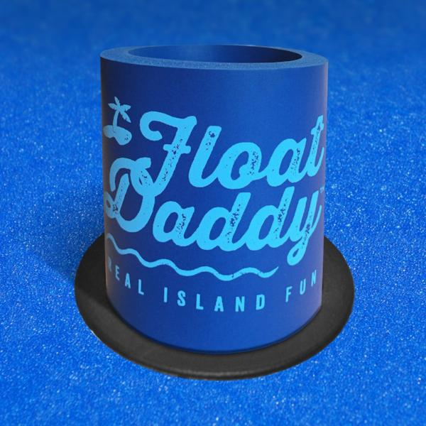 Foam Koozie | FloatDaddy | Blue