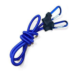 Bungee and Carabiner | FloatDaddy Accessories | Blue