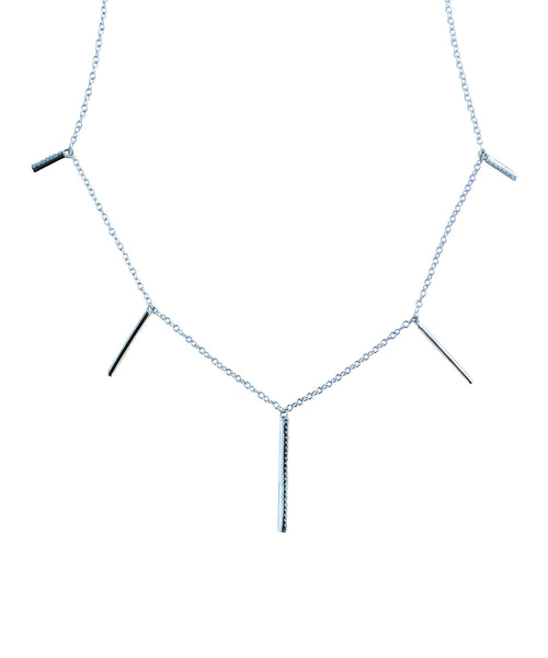 Hanging Bars Necklace