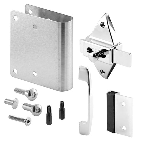 Latch Repair Kit, 1 Inch Round Edge Doors, Outswing w/Pull