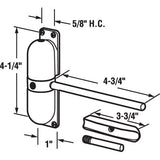 Safety Spring Door Closer