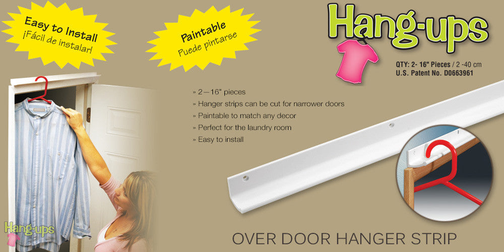 Hang-Ups  -  Over-Door Hanger Strips