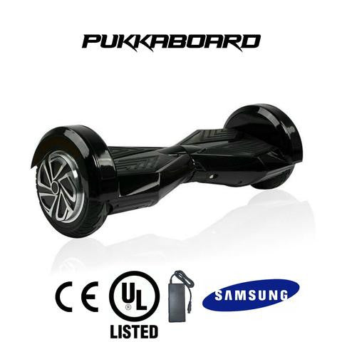 "*REFURBISHED 8"" Stealth Lambo Bluetooth PukkaBoard + 6 month Warranty - PukkaMate,  Safe Bluetooth Hoverboard, UL, CE Certified UK, Best Swegway Smart Balance"