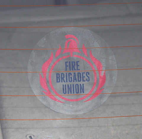 FBU Car Sticker