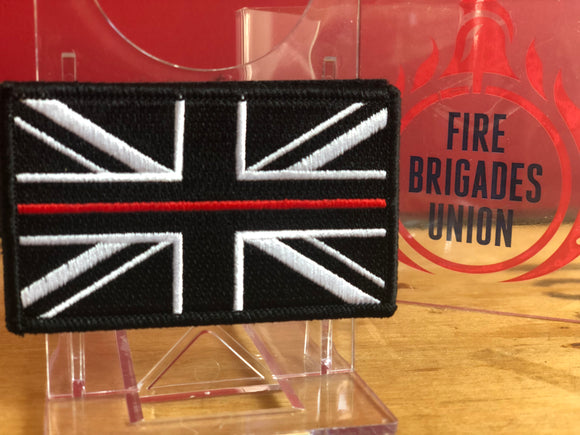 Thin Red Line Velcro Patch