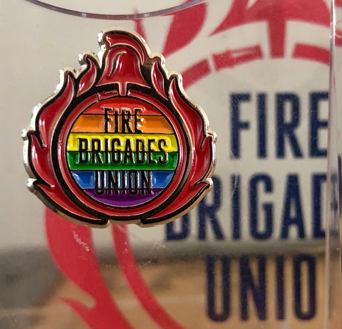 FBU Pride Pin Badge