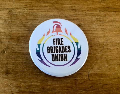 FBU Pride bottle opener and fridge magnet