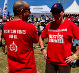 Justice4Grenfell FBU Campaign T-Shirt