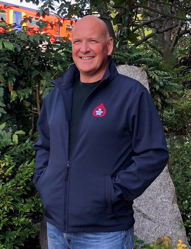 FBU Navy Regatta Softshell Jacket