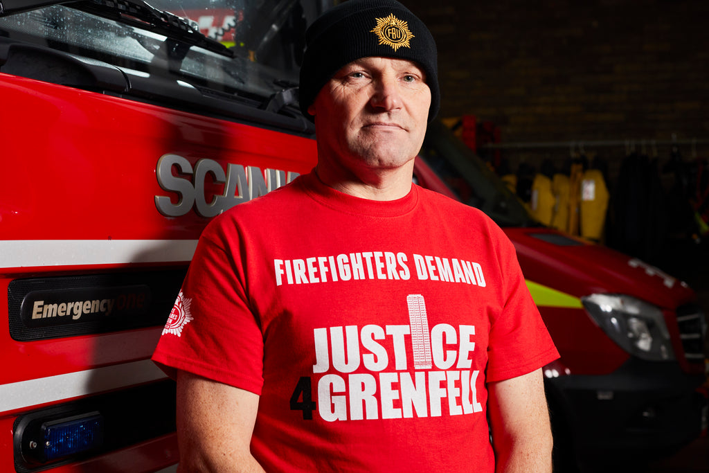 'Firefighters 100' Beanie Hat