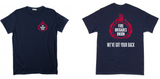 FBU Men's 'We've Got Your Back' T-shirt