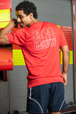 Station Sports Range T Shirt in Red