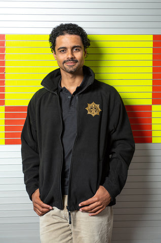 'Firefighters 100' Men's Fleece