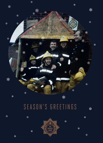 Christmas Cards - Pack of 10 - Seasons greetings from the FBU!