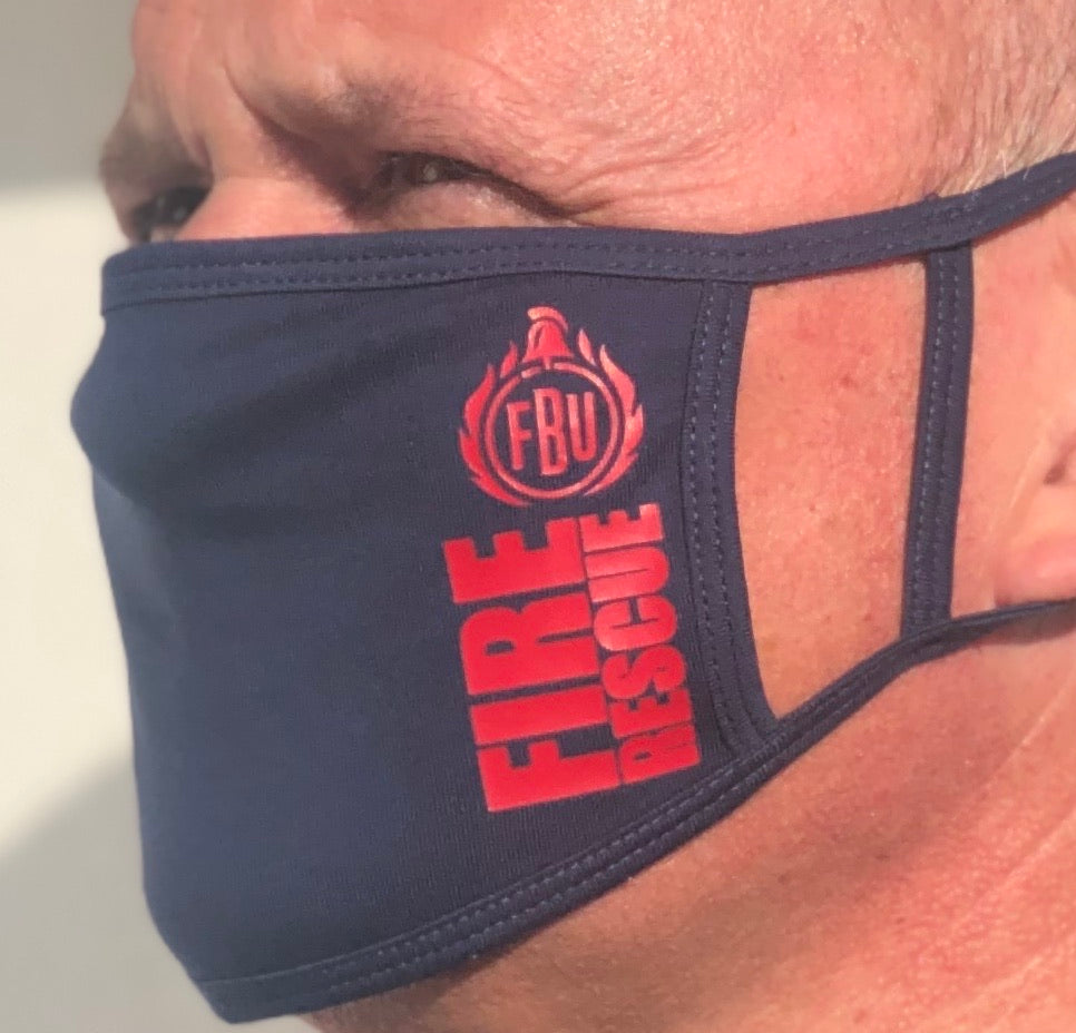 FBU 'Fire Rescue' Face Covering