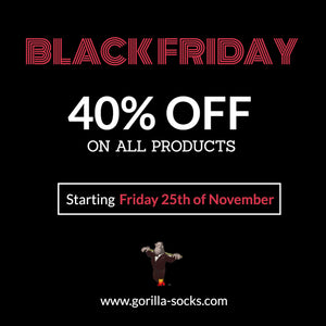 Black Friday & Cyber Monday 40% Off Sale