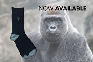 Introducing Silverback bamboo socks!
