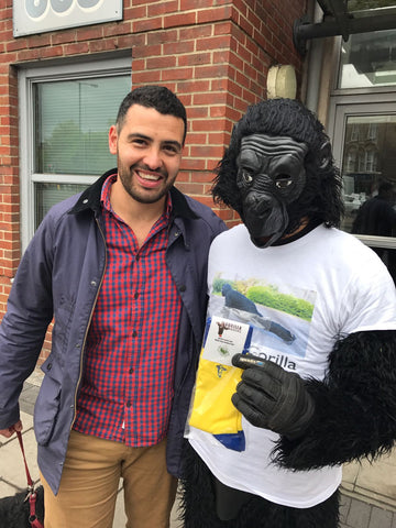 Mr. Gorilla the gorilla saver
