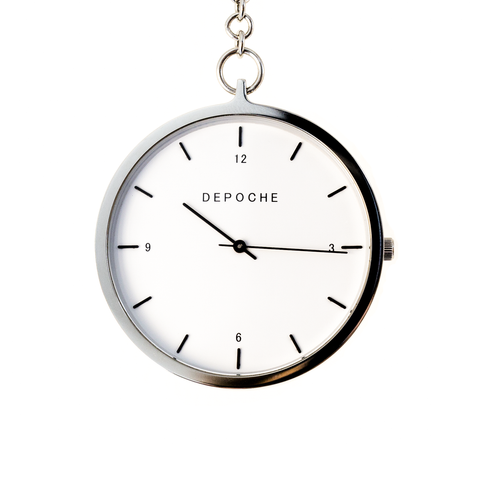 Depoche Silver Pocket Watch