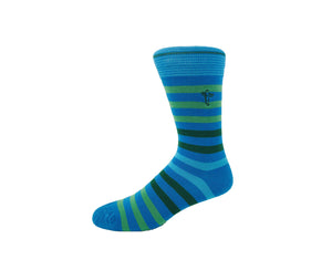 Coastlines - Gorilla Socks Bamboo Cotton Colorful