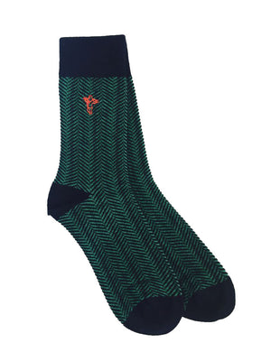 Green Envy - Gorilla Socks Bamboo Cotton Colorful