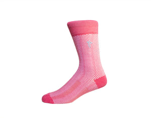 Mr. Pink - Gorilla Socks Bamboo Cotton Colorful