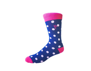 Polka Loca - Gorilla Socks Bamboo Cotton Colorful