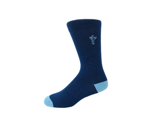 Ocean Blue - Gorilla Socks Bamboo Cotton Colorful