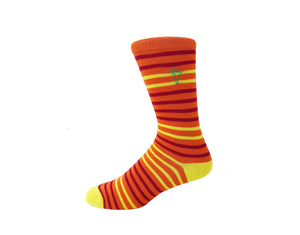 Safari Sunset - Gorilla Socks Bamboo Cotton Colorful