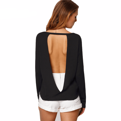 Call Me Backless Top