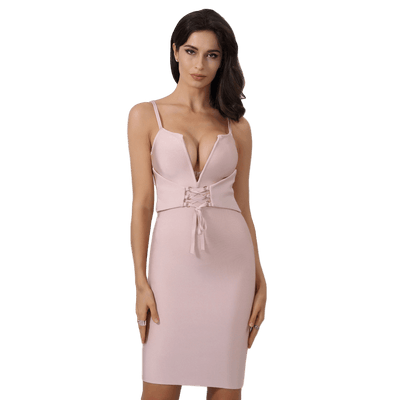 Juliet Corset Belt Dress