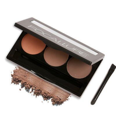 3-Colour Eyebrow Powder Set