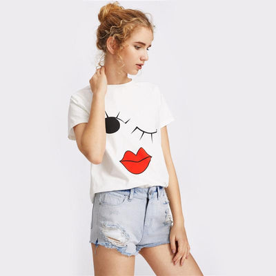 Wink Graphic Tee