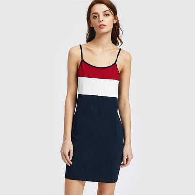 Forever Young Colour Block Dress