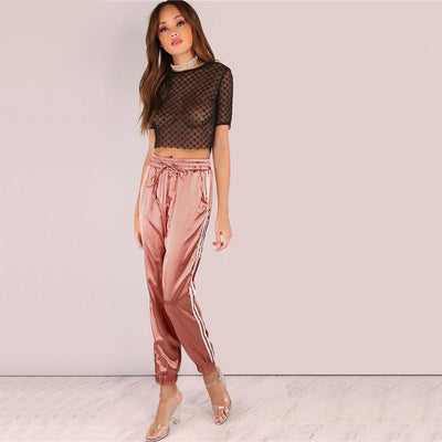 Alchemy Satin Joggers