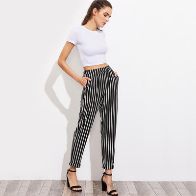 Firecracker Striped Pants