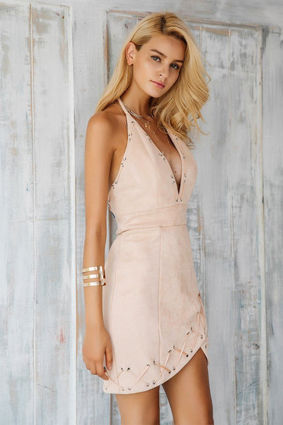 Desert Lights Corset Trim Dress