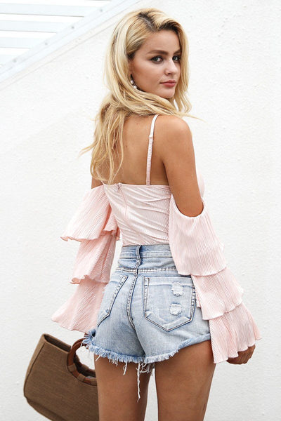 Dulcet Tiered Sleeve Bodysuit