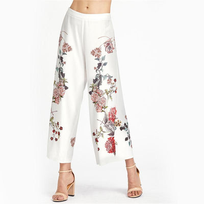 Eden Flared Floral Pants