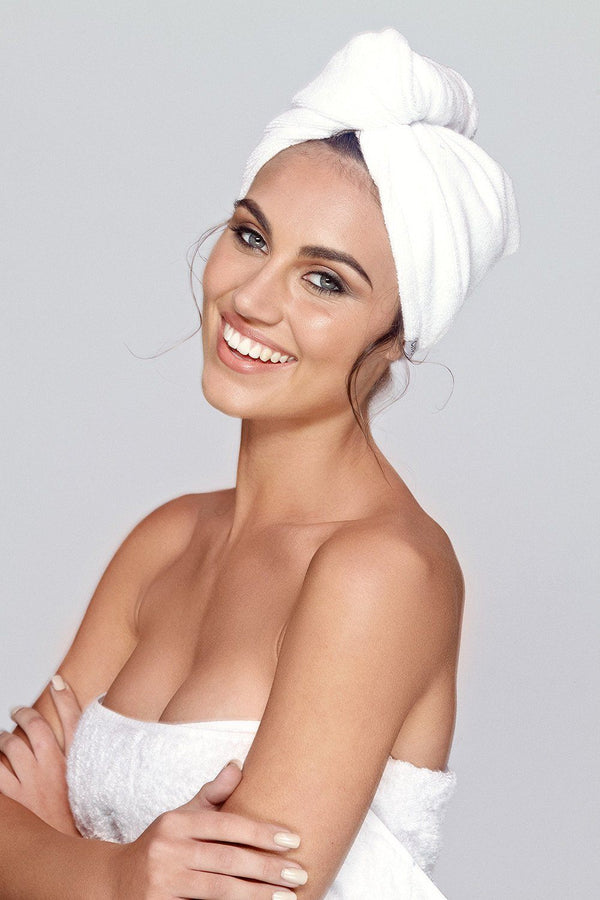 Microfibre Hair Turban Towel