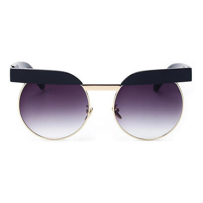 Thursday Brow Trim Round Sunglasses