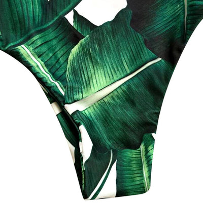 Kauna'oa Bay Side Cut Monokini