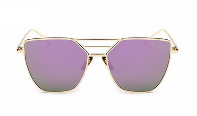 Independent Woman Modern Aviator Sunglasses