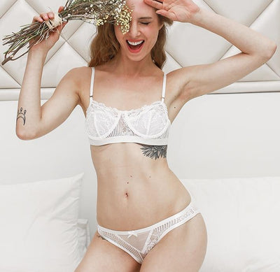 Lucky Charm Lace Bra and Panty Set