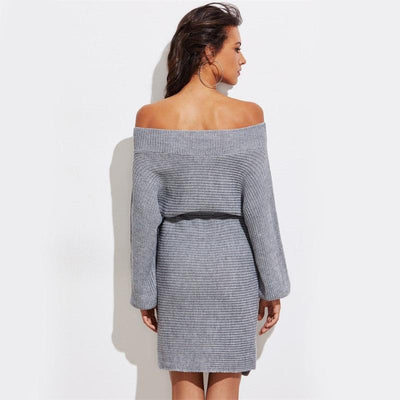Java Batwing Sweater Dress