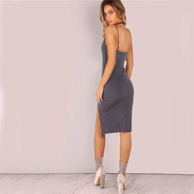 Moondust Side Split Dress