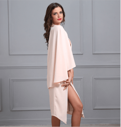 Essen Halter Cape Dress