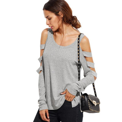 Quest Cold Shoulder Sweater