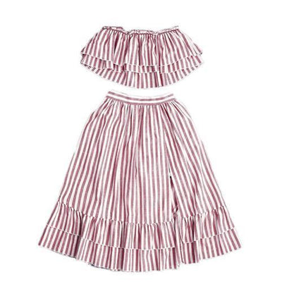 Sundae Striped Two-Piece Set